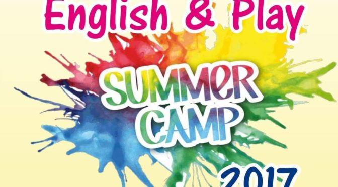 English & Play Summer Camp 2017