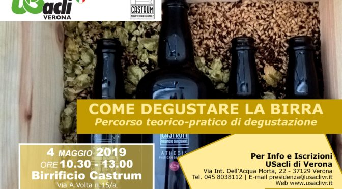 """COME DEGUSTARE LA BIRRA"" – SOLD OUT!"