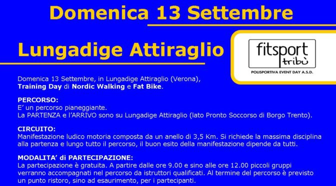 Training Day di Nordic Walking e Fat Bike