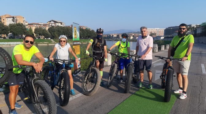 TRAINING DAY DI NORDIC WALKING E FAT BIKE su Lungadige Attiraglio di domenica 13/09/2020
